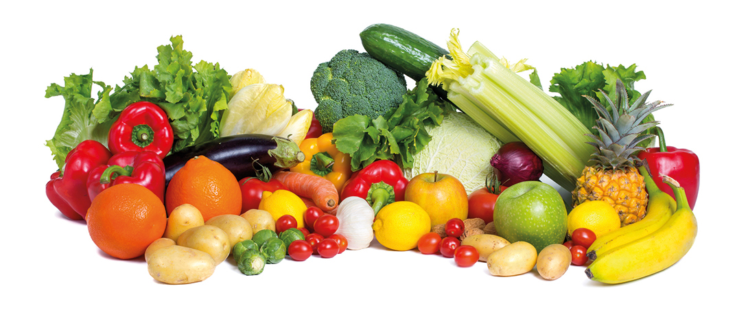 Fruit and vegetables, foods rich in antioxidants