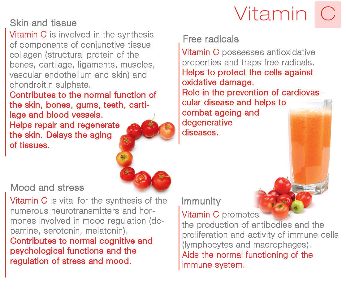 Vitamins - well-being guide - Nutergia Laboratory